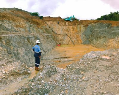 Penyusunan Studi Kelayakan Tambang Terbuka Bahan Galian Emas PT Cibaliung Sumberdaya